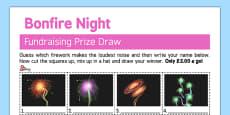 Guess the Firework Fundraising Sheet