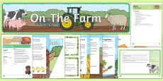 Childminder On the Farm EYFS Resource Pack