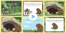 Songs and Rhymes PowerPoints Pack Bear Hunt