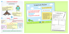 Recognise Some Different Forms of Poetry Limericks Lesson Teaching Pack