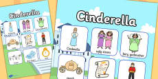 Cinderella Vocabulary Poster