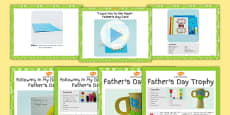 EYFS Father's Day Craft with Accompanying Planning Pack