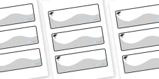 Pukeko Themed Editable Drawer-Peg-Name Labels (Colourful)