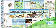 PlanIt - D&T KS1 - Moving Pictures: Traditional Tales Additional Resources