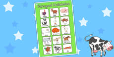 Vocabulary Poster to Support Teaching on Farmyard Hullabaloo