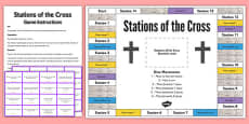 Stations of the Cross Board Game
