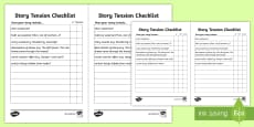 Story Tension Checklist