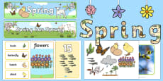 * NEW * Spring Display Pack