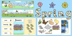 * NEW * Spring Display Pack
