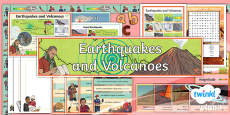 Extreme Earth: Earthquakes and Volcanoes Additional Resources