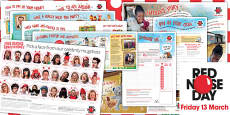 Red Nose Day 2015 Fundraising Pack
