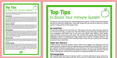 Care Staff Top Tips to Boost Your Immune System