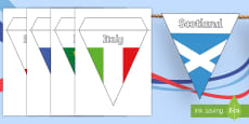 Six Nations Rugby Display Bunting