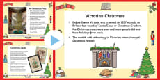 Victorian Christmas Time Information PowerPoint