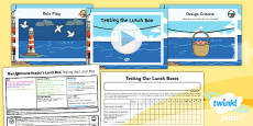 PlanIt - D&T KS1 - The Lighthouse Keeper's Lunch Box Lesson 5: Testing the Lunch Box Lesson Pack
