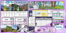 PlanIt - Year 3 French - Time Unit Pack
