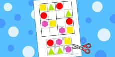 2D Shape Sudoku