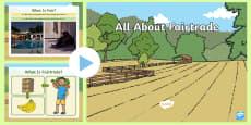 EYFS All About  Fairtrade PowerPoint