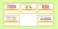 Number Bonds to 10 Stories Challenge Cards Urdu Translation