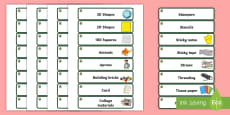 Willow Themed Editable Classroom Resource Labels