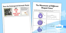 PlanIt - Design and Technology UKS2 - Automata Animals Unit Home Learning Tasks