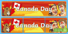 * NEW * Canada Day Display Banner