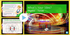KS3 Forces What's Your Idea? PowerPoint