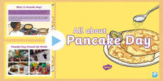 * NEW * All About Pancake Day PowerPoint