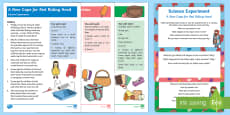 EYFS Little Red Riding Hood Science Experiments Resource Pack