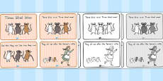 Australia - Three Blind Mice Story Sequencing 4 per A4
