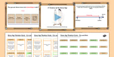 Stone Age Timeline Lesson Teaching Pack PowerPoint