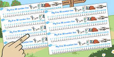 Dick Whittington Number Lines 0-30