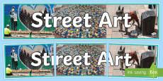Street Art Display Banner