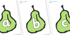 Phoneme Set on Pears
