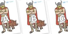 A-Z Alphabet on Vikings