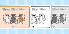 Australia - Three Blind Mice Story Sequencing