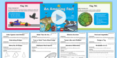* NEW * May Amazing Fact a Day  Activity Pack