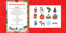 Christmas Sensory Bin and Resource Pack