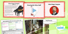 PlanIt - Art UKS2 - North American Art Lesson 1: Drawing the Other Half Lesson Pack