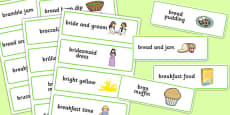 Three Syllable 'BR' Word Cards