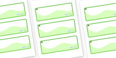 Yew Tree Themed Editable Drawer-Peg-Name Labels (Colourful)