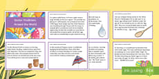 * NEW * Easter Traditions Around the World Discussion Cards