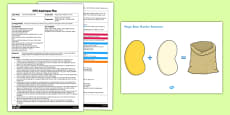 Magic Beans Addition Activity EYFS Adult Input Plan and Resource Pack