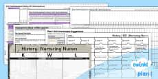 PlanIt - History KS1 - Nuturing Nurses Unit Assessment Pack