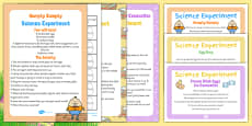 EYFS Easter Themed Science Experiments Resource Pack