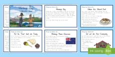 Waitangi Day Celebration Ideas Information Cards