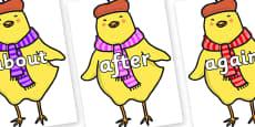 KS1 Keywords on Chicken Licken