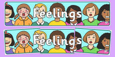 Feelings Display Banner