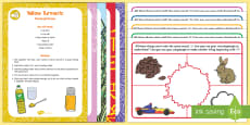 Phase 1 Phonics Colour and Alliteration Playdough Recipe and Mat Pack