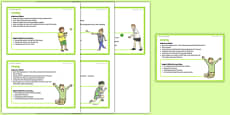 Foundation PE (Reception) – Games - The Olympics Teacher Support Cards Pack
